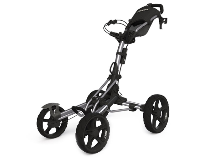 Clicgear Pushcart Silver Black