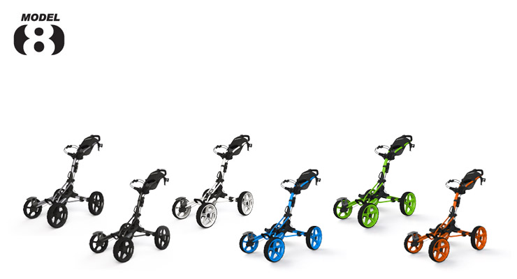 Clicgear Pushcart Model 8 Colours